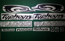 Piaggio Typhoon Decals/Stickers FULL KIT